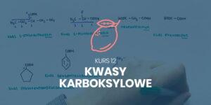 Kurs 12. Kwasy karboksylowe