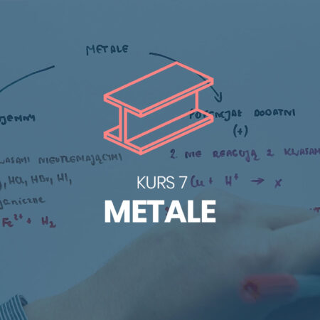 Kurs 7. Metale